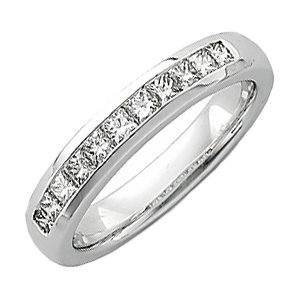 14kt. W.G. 1.00 ct Diamond Men's Ring