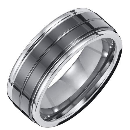 8mm Tungsten Carbide Comfort Fit Band