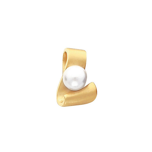 14kt. Y.G. 8.00 mm Pearl Pendant