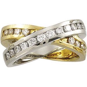 14kt. W.G. 0.26ct. Diamond Ring