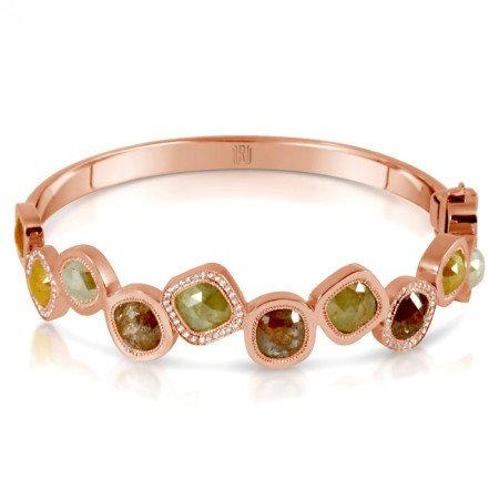 Multicolor Diamonds Kifani Bangle