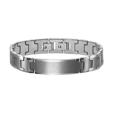 Tungsten Carbide ID bracelet