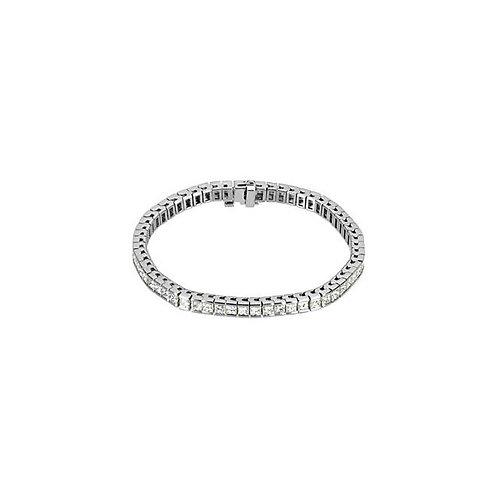 14kt. WG Diamond Tennis Bracelet