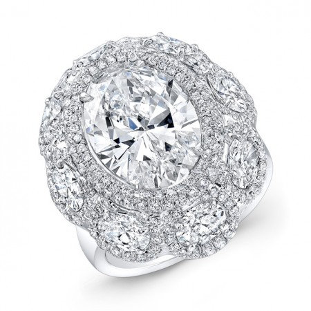 18kt. White Gold Ring
