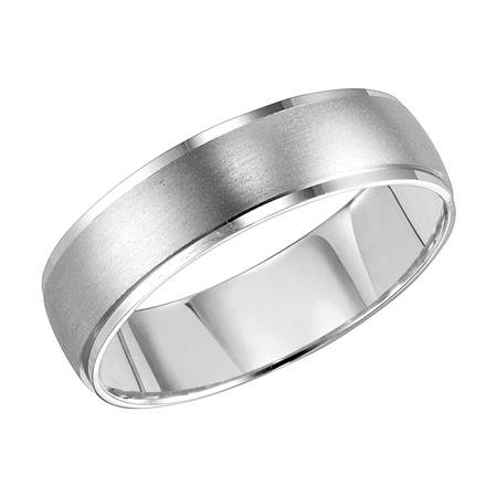 14kt. W.G. Comfort Fit Wedding Band