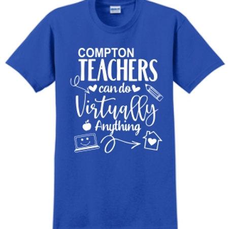 Teachers can do Shirt - White