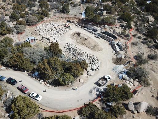 Juan Tabo  & La Luz Trail Progress