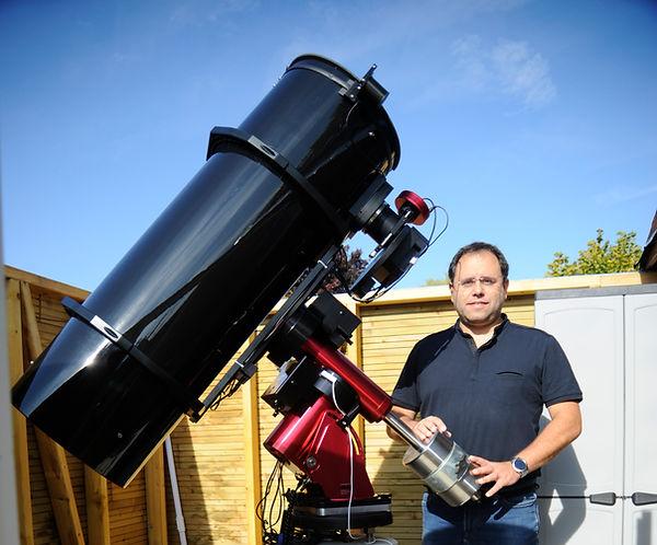 Newton MirroSphere SLT300 F4 - Camera CCD Moravian G4-16000 - Monture Paramount MX+
