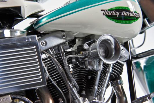 Harley Davidson FLH-1200 'Green Shovel'