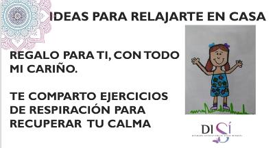 RECUPERA TU CALMA ¡RESPIRA! Ideas para relajarte en casa