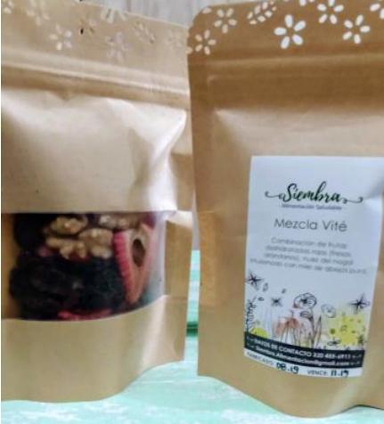 Snacks Saludables Paquete por 10 Unid
