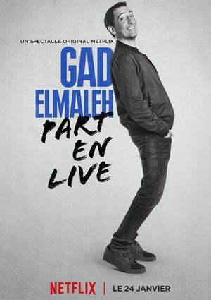 """Gad Elmaleh """"Ca part en Live"""""""