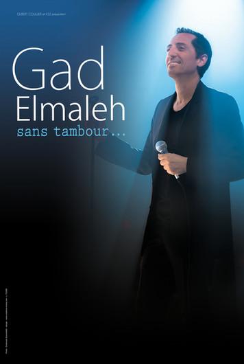 """Spectacle """"Sans tambour"""" de Gad Elmaleh"""