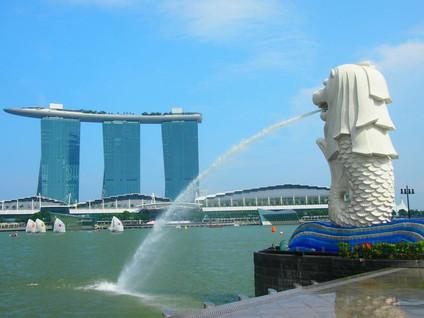 マーライオンといえばシンガポール。由来と行き方