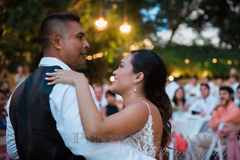 father daughter dance Austin Wedding Photographer