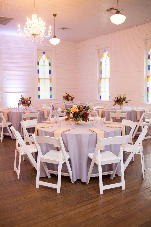 Table Setting Florist Austin Texas Wedding Mercury Hall Photographer