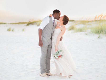 Destination Wedding Fort Walton, FL | Kola + Kassie | Wedding