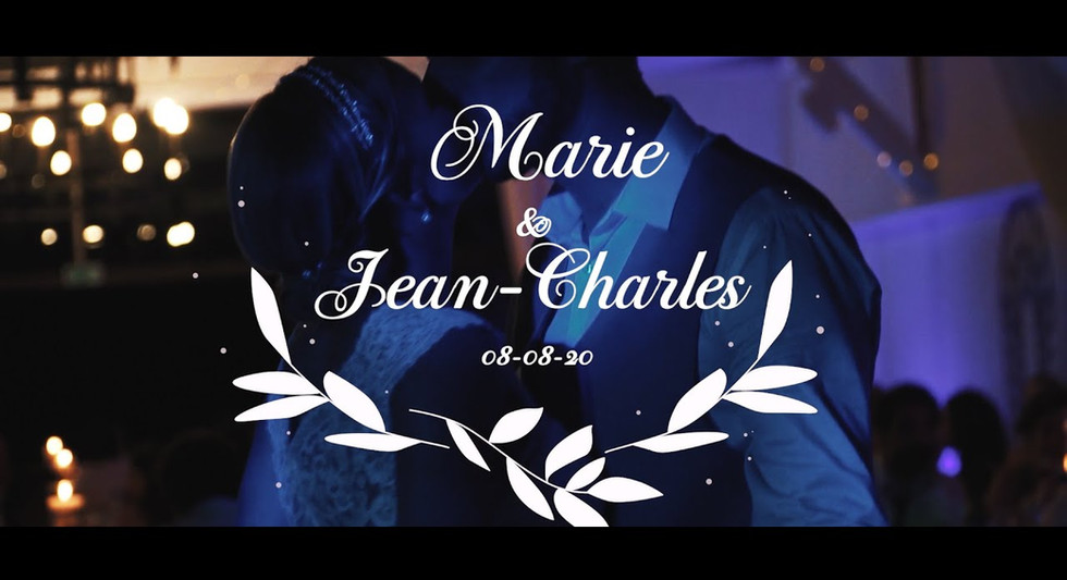 Mariage Marie et Jean Charles
