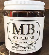 Middlebar Bourbon Poached Cherries