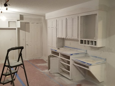 Giving this old kitchen a new start