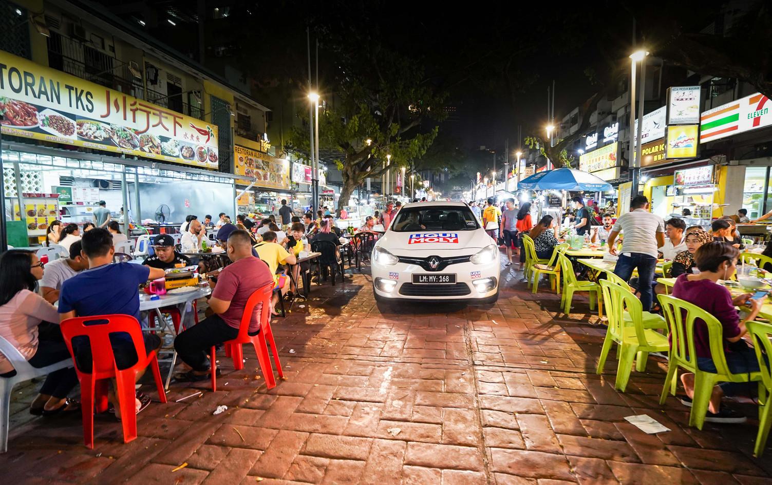 Famous Food Street at Jalan Alor, Kuala