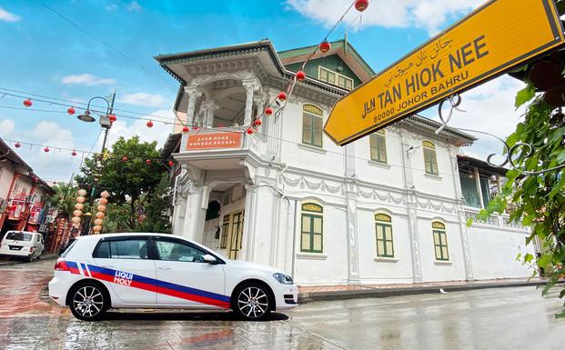 Tan Hiok Nee Heritage Walk in Johor Bahr