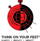 Think on Your Feet Copyrighted by AcComm