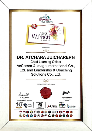 Asia Woman Leadership Award Winner