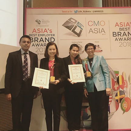 Asia Best Employer Brand Award Winner