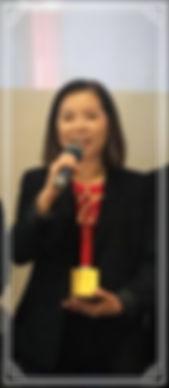 ดร. เจี๊ยบ อัจฉรา กล่าวขอบคุณผู้จัดงาน Asia Best Employer Brand Awards