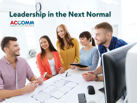 Leadership in the Next Normal