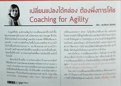 Agility Article