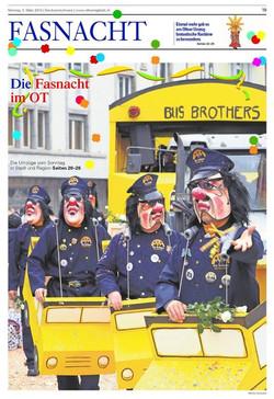 Titelseite Oltner Tagblatt 3
