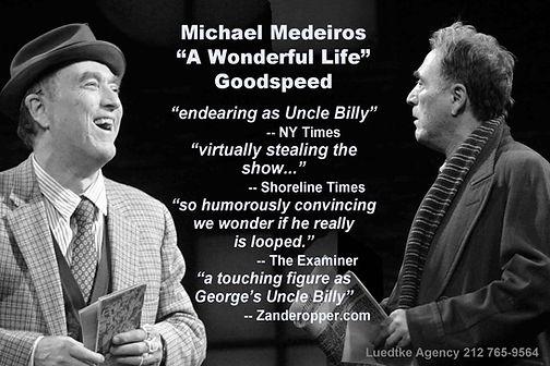 michael medeiros, goodspeed musicals