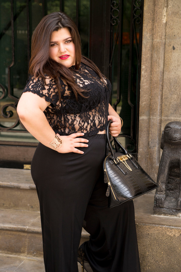 Outfit: Black & Gold