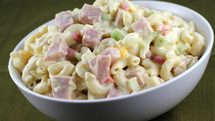 Macaroni Salad with ham