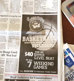 Basketball Ad