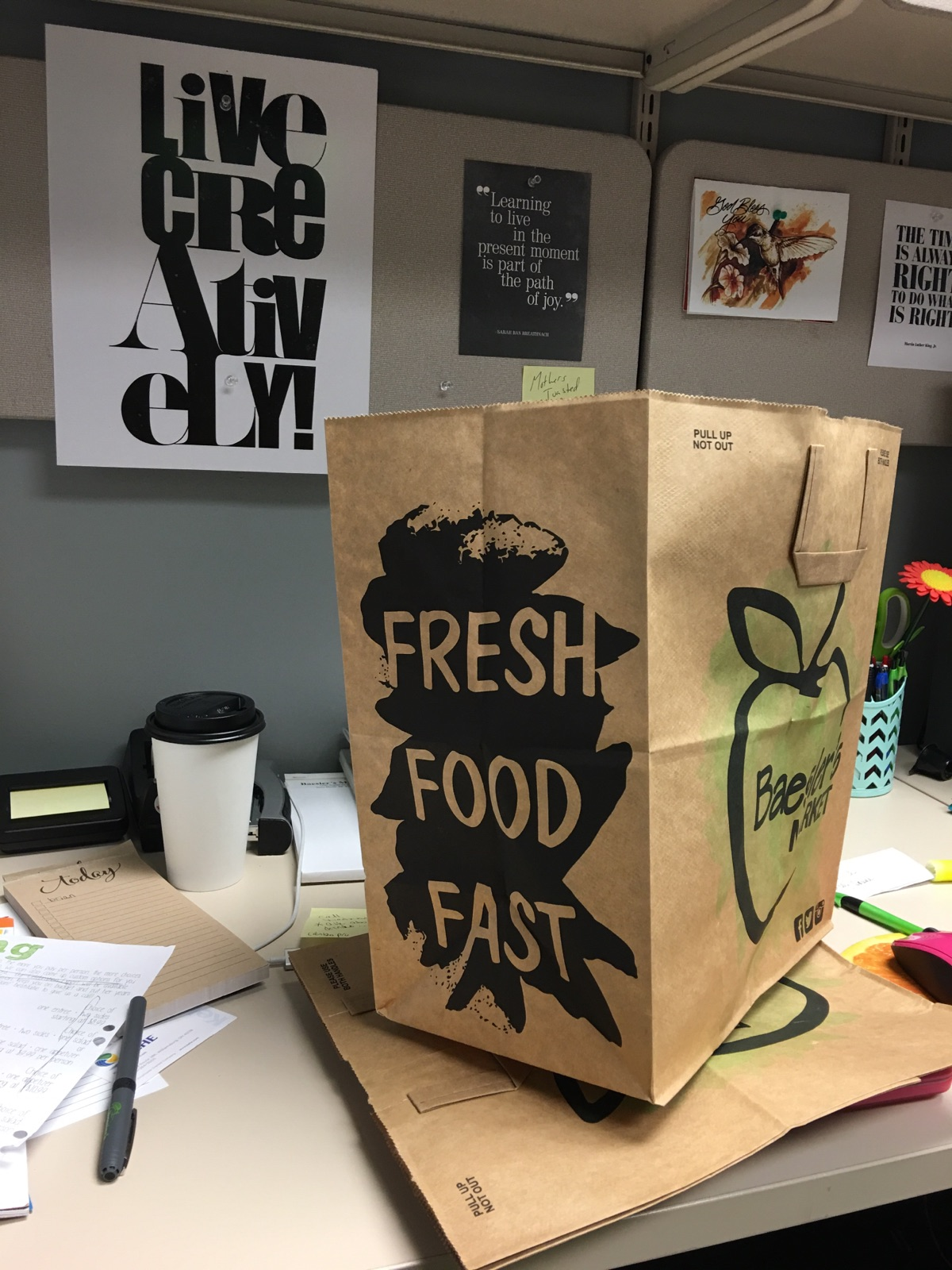 Paper Bag Side View