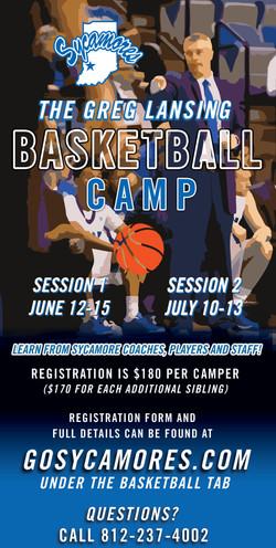 Basketball Camp Graphic