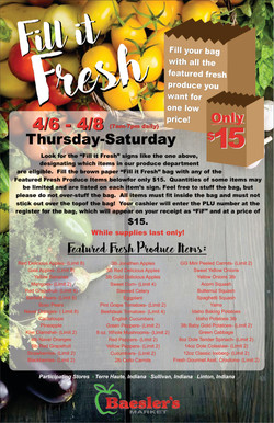 Produce Sale Poster