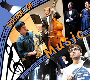 School of Music Web Graphic
