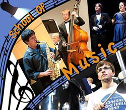 School of Music Web Graphic