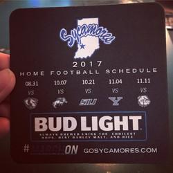 ISU Football Coaster