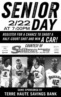 Senior Day Basketball Graphic