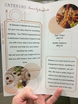 Bridal Showcase brochure