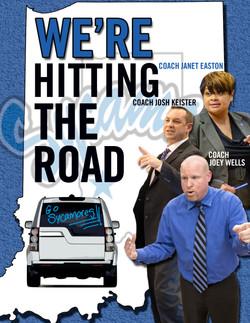 Coaches Caravan Graphic