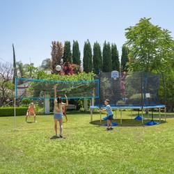 14ft Basketball, Badminton & Volleyball Trampoline