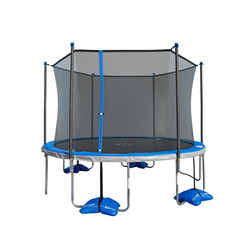 TruJump 12ft Trampoline with Spin-n-Light