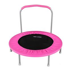 """36"""" Mini Kids Trampoline (Pink)"""