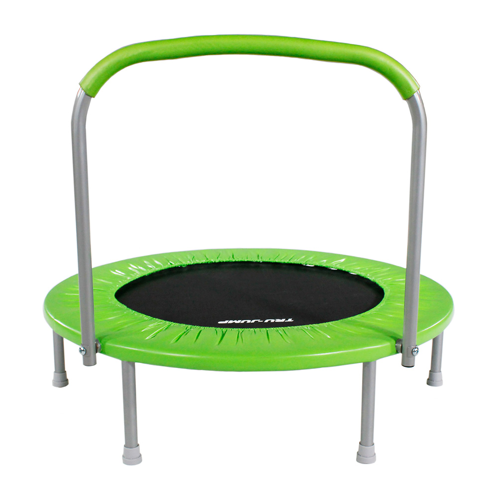 """36"""" Mini Kids Trampoline (Green)"""